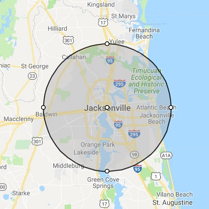 Jacksonville FL Location
